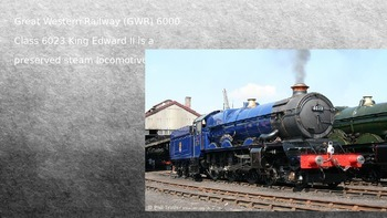 GWR King Edward II Steam Locomotive