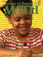 Letters to Parents in Math: Ready-to-Use Letters in English and Spanish, Grades K-3