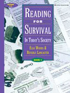 Reading for Survival: In Today's Society, Book 1