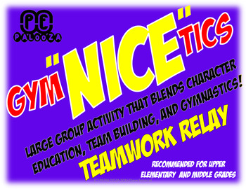 "GYM ""NICE"" TICS - TEAMWORK RELAY"