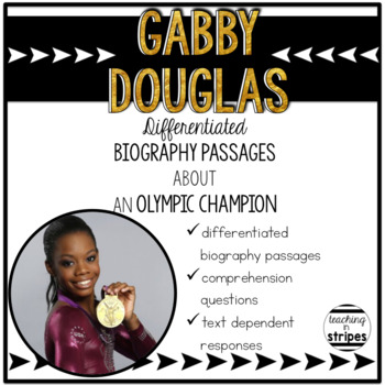 Gabby Douglas: Free Differentiated Biography Passages and
