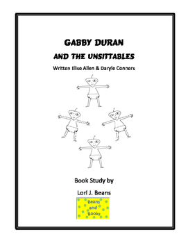 Gabby Duran and the Unsittables Book Study