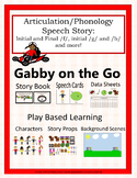 Gabby on the Go: A Speech and Language Story