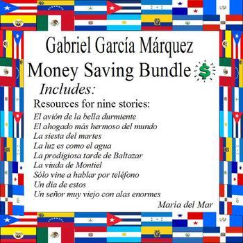Gabriel García Márquez Growing Bundle  (Español)