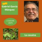 Gabriel García Márquez (1), Cocaine (2): for lively discus