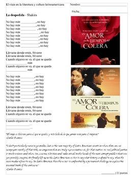 Gabriel García Márquez y Shakira La Despedida
