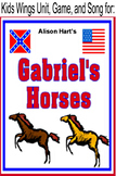 Gabriel's Horses by Alison Hart, A Civil War Story
