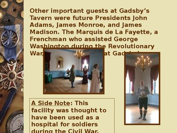 Gadsby's Tavern, Old Town Alexandria-Meeting Place of Early American Presidents