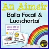 Gaeilge An Aimsir - Luaschartaí agus Balla Focail