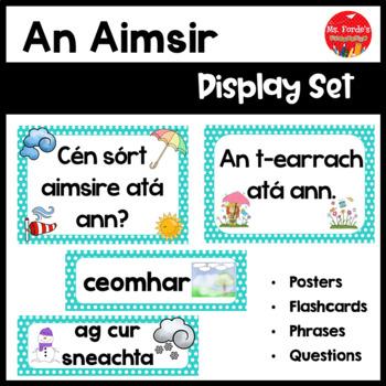 Gaeilge An Aimsir Resource Pack (Irish weather resource pack)
