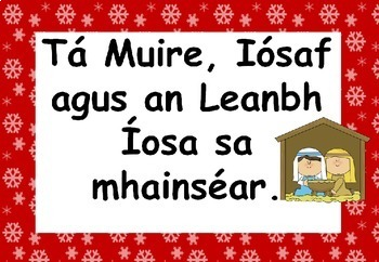 Gaeilge An Nollaig (Christmas resource Pack in Irish)