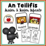 An Teilifís - Irish Worksheets for Junior and Senior Infants