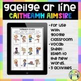 Gaeilge Ar Líne - Caitheamh Aimsire - Google Classroom