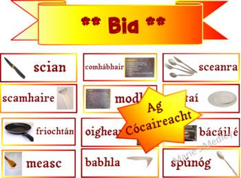 Gaeilge - Bia - Oideas agus Biachlár