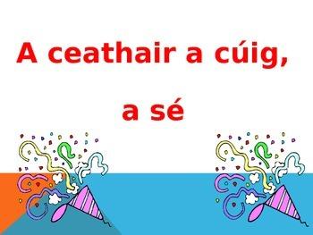 Gaeilge - Breithlá - Nuala Rann / Poem - Juniors