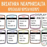 Gaeilge Briathra Neamhrialta Display Pack