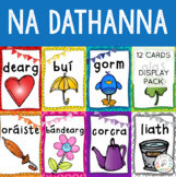 Gaeilge - Colours in Irish Display