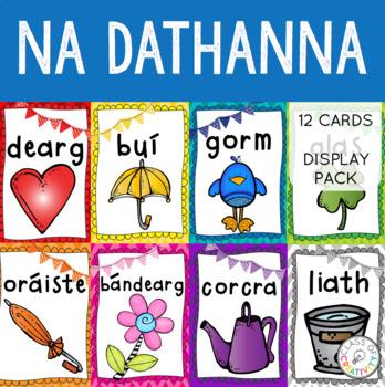 Gaeilge - Colours in Irish Display