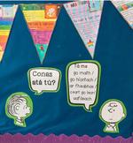 Seachtain na Gaeilge. Gaeilge Display. Ceisteanna. Cómhrá