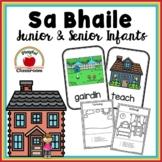 Sa Bhaile - Irish Worksheets for Junior and Senior Infants