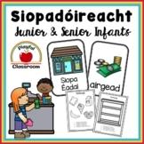 Siopadóireacht - Irish Worksheets for Junior and Senior Infants