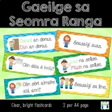 Gaeilge sa Seomra Ranga - Irish in the Classroom - flashcards