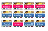 Gafetes Editables / Name tags for kids