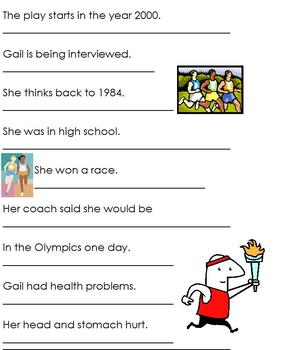 Gail Devers Biography; Summary and Notes for Special Education, black history