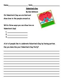 Gail Gibbon's Valentine's Day