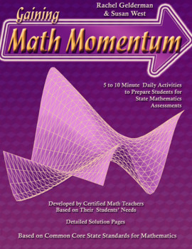Gaining Math Momentum II WarmUp Set 7