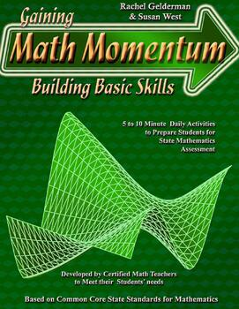 Gaining Math Momentum WarmUp Set 1
