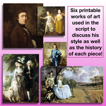 Gainsborough Biography for Young Students- Classical Conversations Cy 2 Week 14