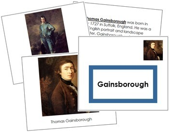 Gainsborough (Thomas) Art Book - Color Border