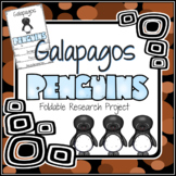 Galapagos Penguin Research Foldable