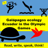 Galápagos ecology (1), Ecuador in the Olympic Games (2)  -
