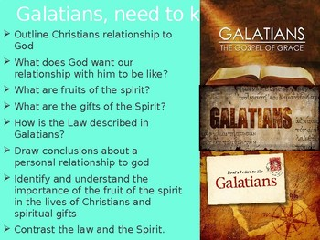 Galatians Power Point notes