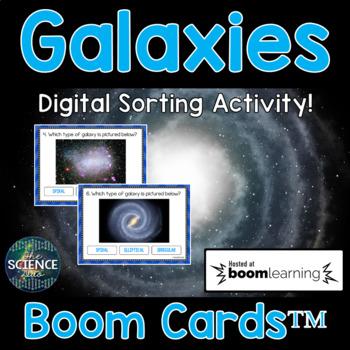 Galaxies - Digital Boom Cards™ Sort