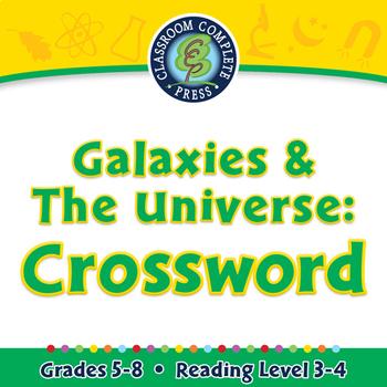 Galaxies & The Universe: Crossword - MAC Gr. 5-8