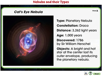 Galaxies & The Universe: Nebulas and their Types - NOTEBOOK Gr. 5-8