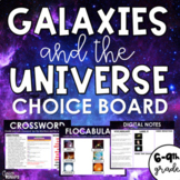 Galaxies and the Universe Digital Choiceboard (Editable File)