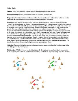 Galaxy Clash Physical Education Game