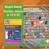 Number Bonds Board Game Galaxy Quest