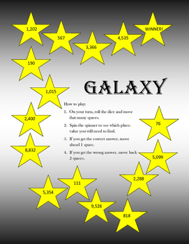 Galaxy Master Place Value Practice