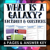 Galaxy / Milky Way Galaxy - Factsheet with Questions and A