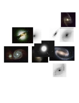 Galaxy Morphology Lab Pictures