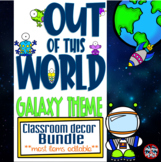 Galaxy - Outer Space Themed Classroom Decor Bundle  **most