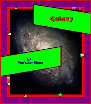 Galaxy : Science is everywhere, Printables and Task Cards