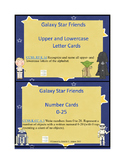 Galaxy Star Friends Alphabet & Number Cards
