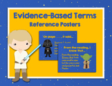 Citing Text Evidence Poster Set and Classroom Decor Star Wars