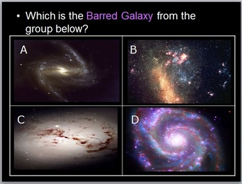 Galaxy Lesson, Hubble Space Telescope